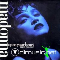 1986 Madonna - Open Your Heart [MAXI]