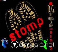 B.G THE PRINCE OF RAP - STOMP [CDM]