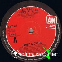 JANET JACKSON - BLACK CAT [3 SNAPS UP 12