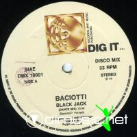 Baciotti - Black Jack - Single 12'' - 1977