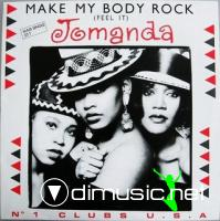 JOMANDA - MAKE MY BODY ROCK [MAXI]