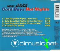 B.A FEAT.MOTI SPECIAL - COLD DAYS HOT NIGHTS [CDM]