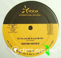 Sound Advice - Do You Love Me Or Love Me Not (1986)