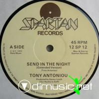 Tony Antoniou - Send In The Night (1984)