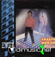 BILL SHARPE & GARY NUMAN - CHANGE YOUR MIND [EXTENDED VERSION]