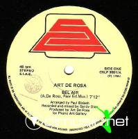 Art De Rosa - Bel Air - 12'' Single - 1984
