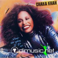 CHAKA KHAN - What Cha' Gonna Do For Me - 1981