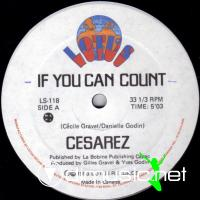 Cesarez - If You Can Count - Single 12'' - 1983