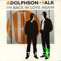 Adolphson & Falk - I'm Back In Love Again  - Single 7''- 1985