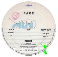 Fake -- Right (Remix)-New Art (1984)