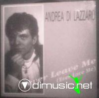 Andrea Di Lazzaro - Never Leave Me (12'') 1989