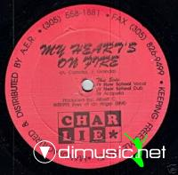 Charlie - My Heart's On Fire (12) 1993