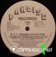 Maggotron Crushing Crew - The Bass That Ate Miami [12'' Vinyl 1988]