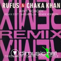 Rufus & Chaka Khan - Ain't Nobody (Remix) [CD Mini-Single 1989]