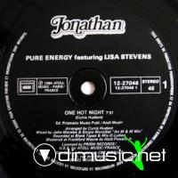 Pure Energy Feat.Lisa Stevens - One Hot Night [12 Vinyl 1984]