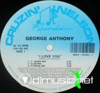 George Anthony - I Love You [12'' Vinyl 1991]
