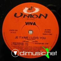 Viva - Je T'aime I Love YoU [12'' Vinyl 1995]