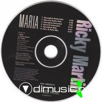 Ricky Martin - Maria [Remixes] [Maxi Single 1997]