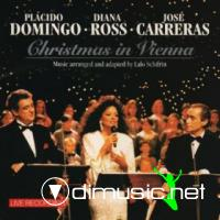 "Diana Ross, Placido Domingo & Jose Carreras ??"" Christmas In Vienna I 1993"