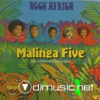 Cover Album of Malinga Five - Rock Africa (Vinyl, LP) 1976