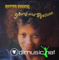 Retta Young - Young And Restless (Vinyl, LP, Album) (1976)