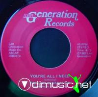 The Last Generation - You're All I Need (1983)