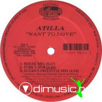 Atilla - Want To Love [12'' Vinyl Ventura Records 1993]