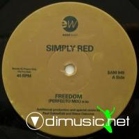 Simply Red - Freedom [12'' Vinyl Promo 1991]