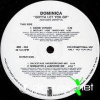 Dominica - Gotta Let You Go [12'' Vinyl Micmac]
