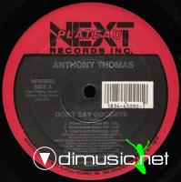 Anthony Thomas - Don't Say Goodbye [12'' Vinyl NPR 1989]