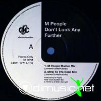 M People - Don't Look Any Further [12'' Vinyl Promo 1993]