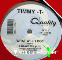 Timmy T - What Will I Do [12'' Vinyl 1990]