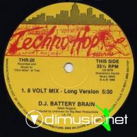 D.J. Battery Brain - 8 Volt Mix [12'' Vinyl 1988]