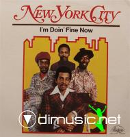 New York City - 1973 - I??™m Doin??™ Fine Now
