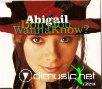 Abigail - Don't You Wanna Know - Single 12'' - 1994