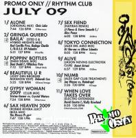 Promo Only Rhythm Club July