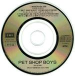 Pet Shop Boys – Behaviour 3″ japanese bonus disc