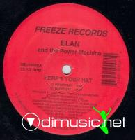 The Elan & Power Machine - Here's Your Hat [12'' Vinyl 1992]