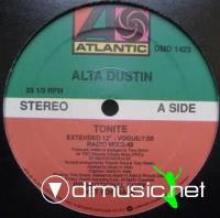 Alta Dustin - Tonite [12'' Vinyl 1989]