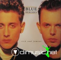 Blue Mercedes - Rich And Famous (Vinyl, LP 1988)