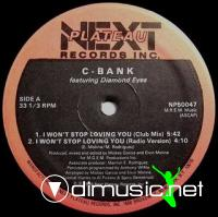 C-Bank - I Won't Stop Loving You [12'' Vinyl 1986]