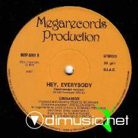 Cinnamon - Hey, Everybody - Single 12'' - 1983