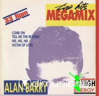 Alan Barry - Top Hits Megamix - Single 12'' - 1989