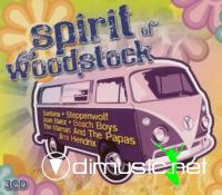 VA - Spirit Of Woodstock (3CD) (2009)