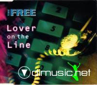The Free - Lover On The Line (Maxi-CD) 1994