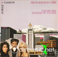 Power & Passion - High Society Girl - Single 12'' - 1987