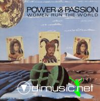 Power & Passion - Women Run The World  - Single 12'' - 1988