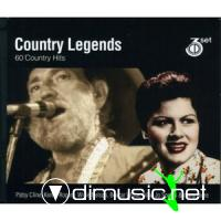 Country Legends - 60 Country Hits (2006)