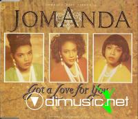 Jomanda - Got A Love For You (Maxi-CD-1991)
