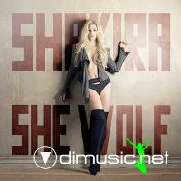 Shakira-She Wolf (Remixes)-Promo CDR-2009